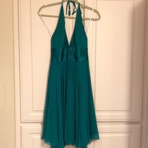 Laundry dress. Teal green